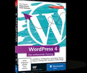 WordPress 4 - Das umfassende Training (DVD) von Birgit Olzem und René Reimann