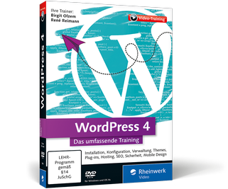 WordPress 4 – Das umfassende Training (DVD)