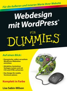Webdesign mit WordPress - Für Dummies / Lisa Sabin-Wilson - Cyan:Magenta:Yellow:Black