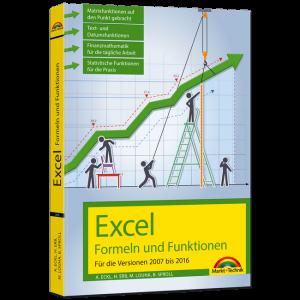 Excel − Formeln und Funktionen / Verlag Markt + Technik / 2016_excel-formeln-funktionen-cover3d