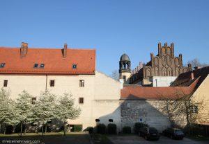Best Western Stadtpalais Wittenberg: Fensterblick mit Aussicht auf das Lutherhaus