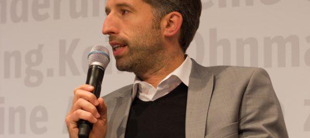 Boris Palmer auf der Frankfurter Buchmesse 2017