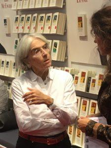 """Donna Leon auf der Frankfurter Buchmesse 2016 mit ihrem Venedig-Krimi """"Ewige Jugend"""""""