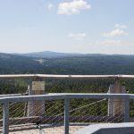 """Aussicht vom """"Baumturm"""" im Nationalparkzentrum Lusen bei Neuschönau"""