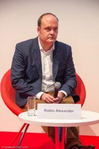Robin Alexander auf der Frankfurter Buchmesse 2017
