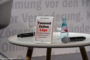 Juan Moreno_Buchvorstellung_Tausend Zeilen Lüge_Frankfurter_Buchmesse_2019