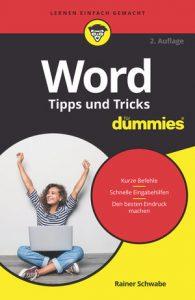 Rainer Schwabe_Word_Tipps und Tricks für dummies®
